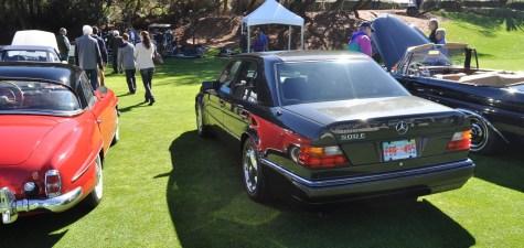 Amelia Concours -- Marque Showcases -- Mercedes-Benz 219 Peking-to-Paris, 220SE (Coupe), 250SL Pagoda and Even 500E HAMMER 3