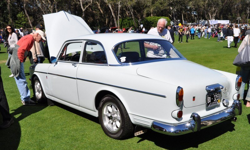 Amelia Island 2014 -- Marque Highlights -- VOLVO PV444 and 122S Amazon Coupe -- Pre-Dating BMW 3 series Ancestors 2