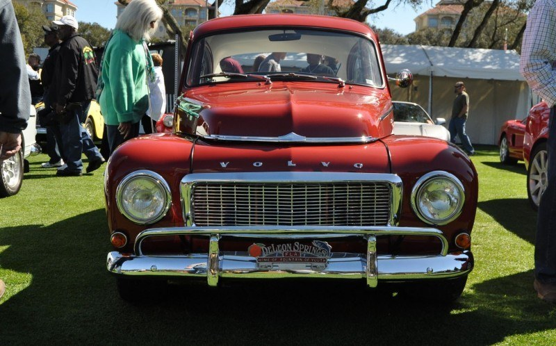 Amelia Island 2014 -- Marque Highlights -- VOLVO PV444 and 122S Amazon Coupe -- Pre-Dating BMW 3 series Ancestors 22