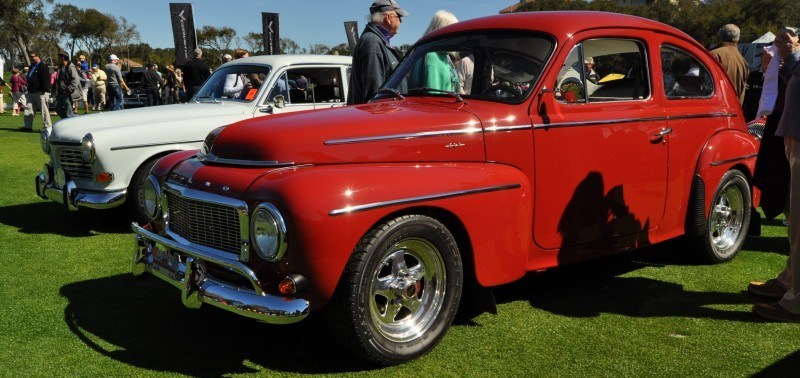 Amelia Island 2014 -- Marque Highlights -- VOLVO PV444 and 122S Amazon Coupe -- Pre-Dating BMW 3 series Ancestors 25
