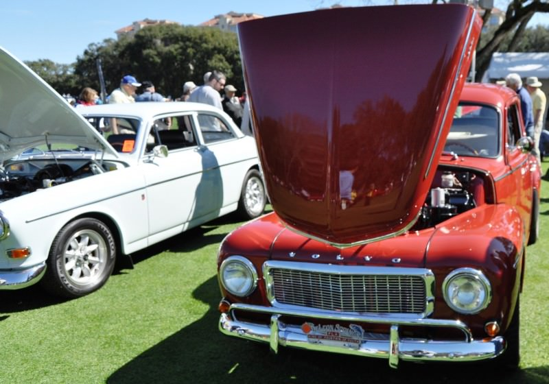Amelia Island 2014 -- Marque Highlights -- VOLVO PV444 and 122S Amazon Coupe -- Pre-Dating BMW 3 series Ancestors 3
