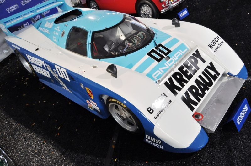 Amelia Island Time Capsules -- 1984 Porsche 962 -- A Fire-Breathing Turbo in the Classic LMP1 Body -- Clears $1.925M for Gooding and Company 5