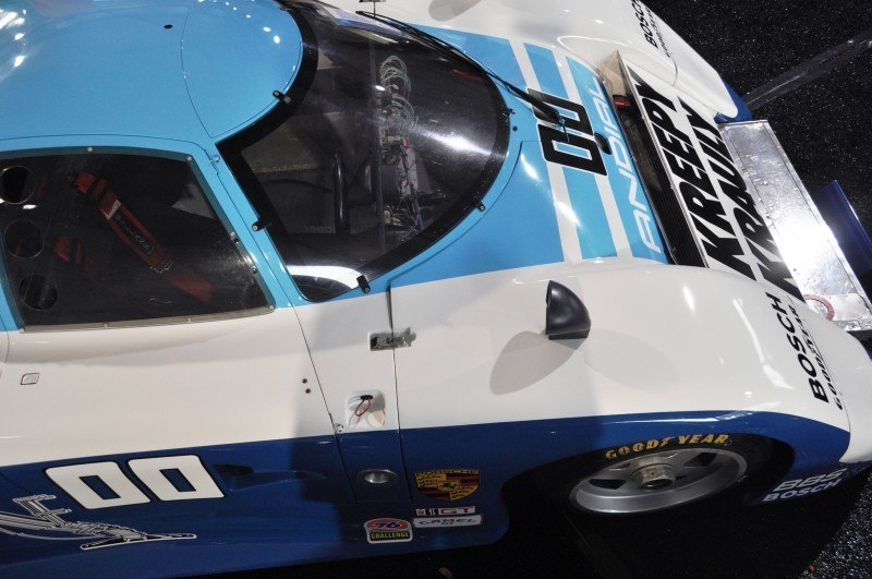 Amelia Island Time Capsules -- 1984 Porsche 962 -- A Fire-Breathing Turbo in the Classic LMP1 Body -- Clears $1.925M for Gooding and Company 6