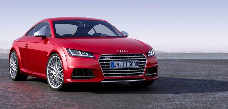 Audi TT is Fighting Fit for 2015 -- Ultra-Simple, High-Tech Interior + TT SQC Promises 3.6s 60-mph Sprint 1