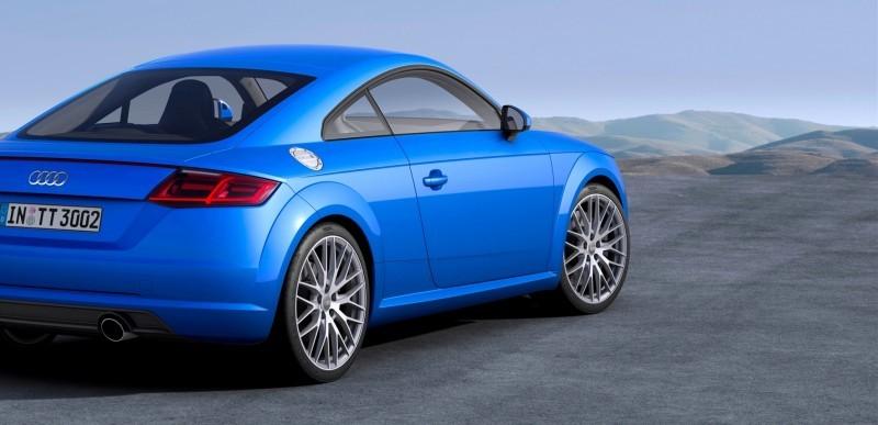 Audi TT is Fighting Fit for 2015 -- Ultra-Simple, High-Tech Interior + TT SQC Promises 3.6s 60-mph Sprint 32