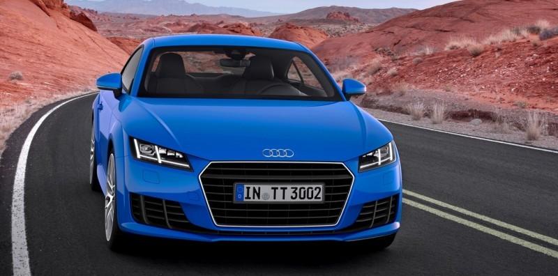 Audi TT is Fighting Fit for 2015 -- Ultra-Simple, High-Tech Interior + TT SQC Promises 3.6s 60-mph Sprint 35