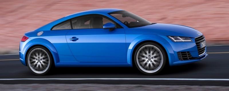 Audi TT is Fighting Fit for 2015 -- Ultra-Simple, High-Tech Interior + TT SQC Promises 3.6s 60-mph Sprint 37