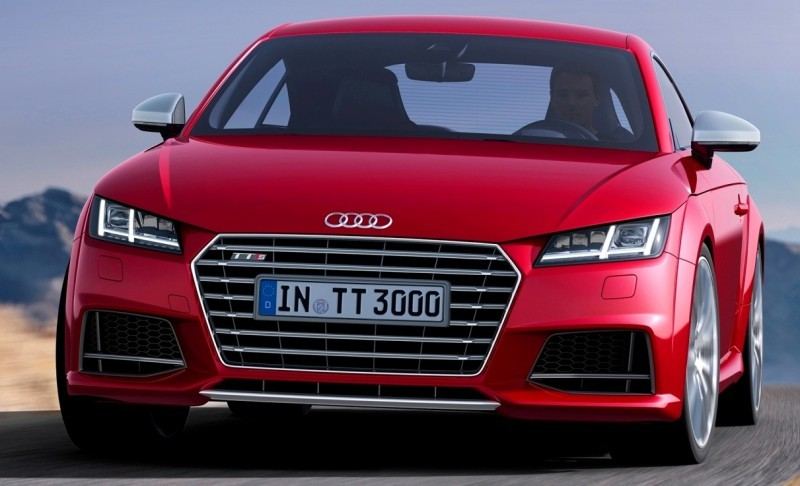 Audi TT is Fighting Fit for 2015 -- Ultra-Simple, High-Tech Interior + TT SQC Promises 3.6s 60-mph Sprint 4