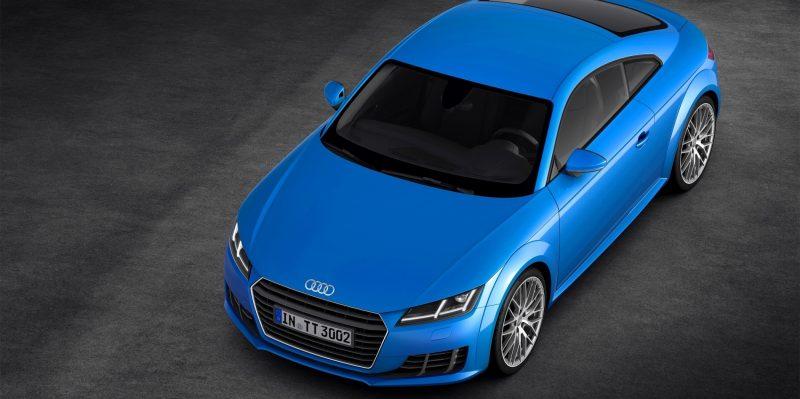 Audi TT is Fighting Fit for 2015 -- Ultra-Simple, High-Tech Interior + TT SQC Promises 3.6s 60-mph Sprint 41