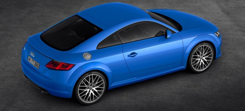 Audi TT is Fighting Fit for 2015 -- Ultra-Simple, High-Tech Interior + TT SQC Promises 3.6s 60-mph Sprint 43