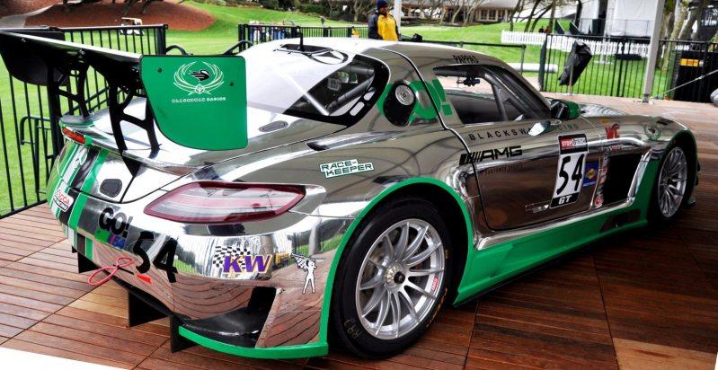 Black Swan SLS AMG GT3 In Detail -- Incredibly Fascinating Aerodynamic Solutions Under Disguise Mirror Wraps 18
