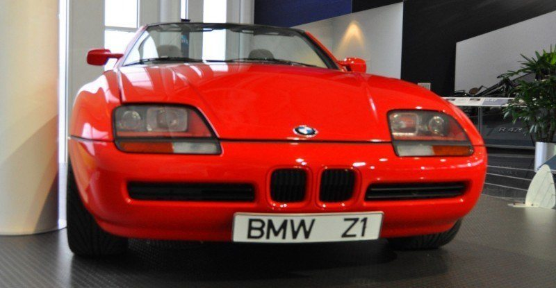 Car Museums Showcase -- 1989 BMW Z1 at Zentrum in Spartanburg, SC -- High Demand + High Price Led Directly to US-Built Z3 12