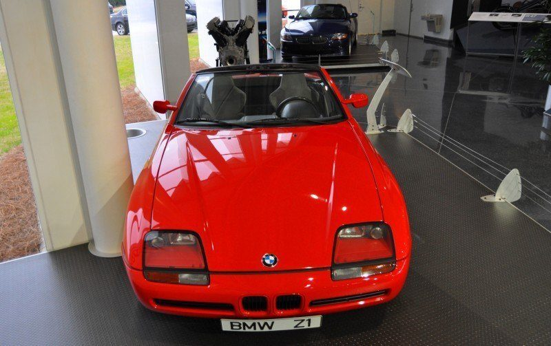 Car Museums Showcase -- 1989 BMW Z1 at Zentrum in Spartanburg, SC -- High Demand + High Price Led Directly to US-Built Z3 15