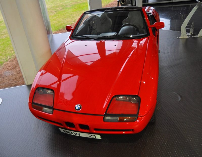 Car Museums Showcase -- 1989 BMW Z1 at Zentrum in Spartanburg, SC -- High Demand + High Price Led Directly to US-Built Z3 17
