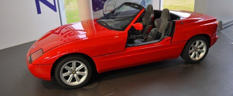 Car Museums Showcase -- 1989 BMW Z1 at Zentrum in Spartanburg, SC -- High Demand + High Price Led Directly to US-Built Z3 5