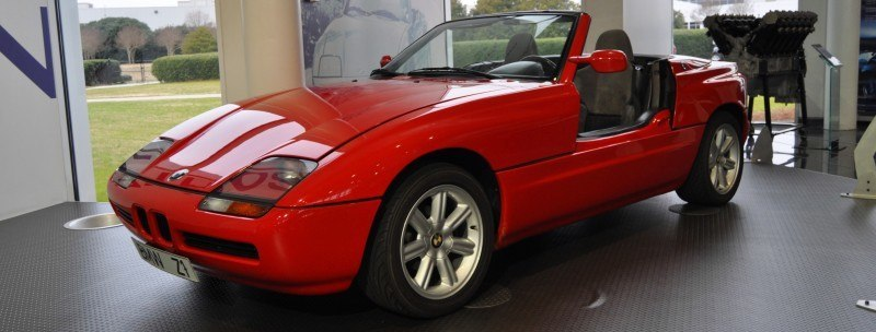 Car Museums Showcase -- 1989 BMW Z1 at Zentrum in Spartanburg, SC -- High Demand + High Price Led Directly to US-Built Z3 7