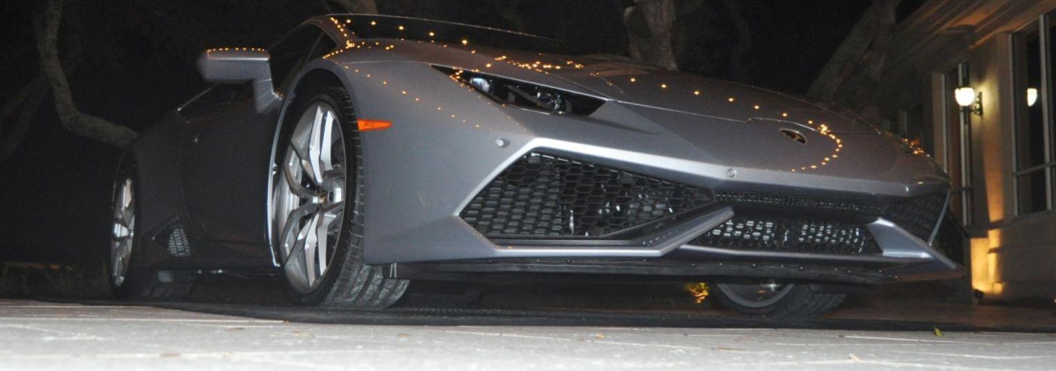 Car-Revs-Daily.com -- 2015 Lamborghini Huracan -- Official American Debut  101