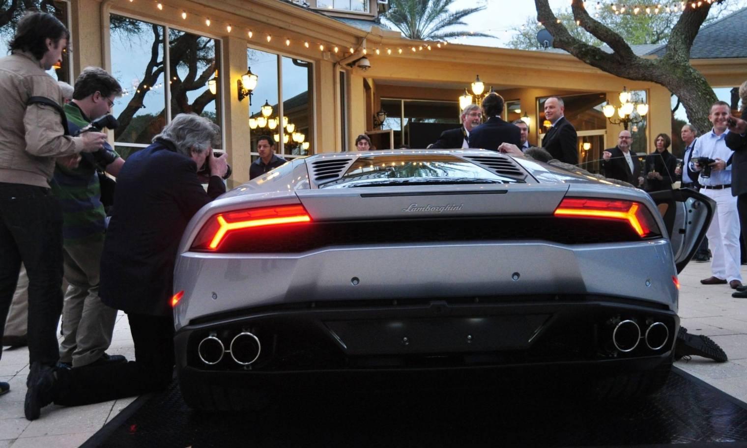 Car-Revs-Daily.com -- 2015 Lamborghini Huracan -- Official American Debut  32