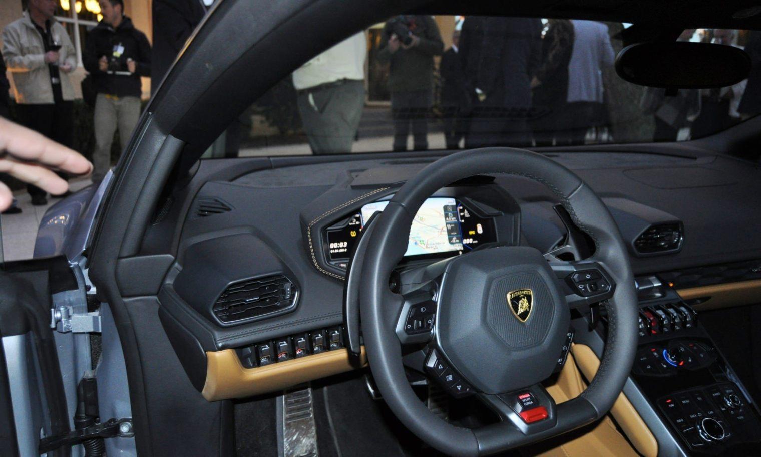 Car-Revs-Daily.com -- 2015 Lamborghini Huracan -- Official American Debut  43