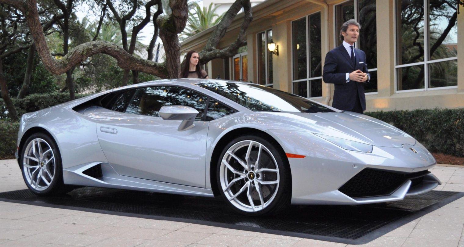 Car-Revs-Daily.com -- 2015 Lamborghini Huracan -- Official American Debut  8
