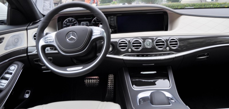 Car-Revs-Daily.com -- 3.9s Mercedes-Benz S65 and S63 AMG 4MATIC -- Cool Buyers Guide Intel -- 40 Real-Life Photos  Animated Option Visualizers 73