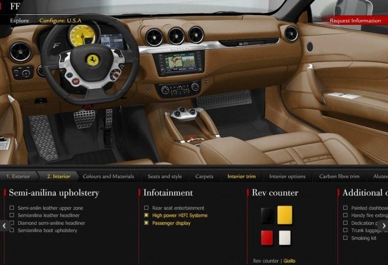 Car-Revs-Daily.com -- Ferrari FF is Monday-Sunday V12 Supercar 115