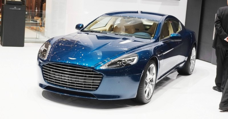 Geneva 2014 ShowFloor Gallery -- Aston Martin Rapide S and Vantage S V12 Wearing N420-Inspired Livery 8