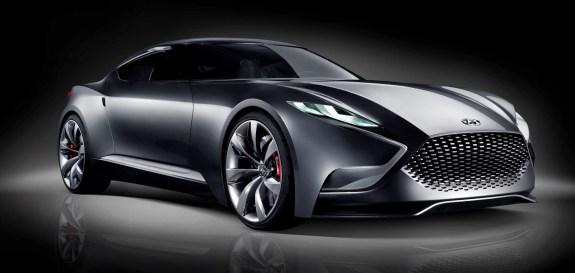 HYUNDAI Coupe Designs i-ONIQ and HND-9 9
