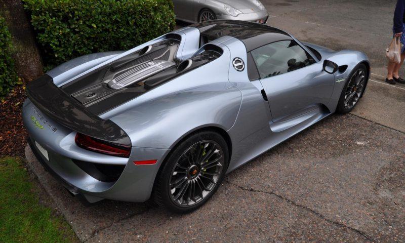 HyperCar HyperGalleries! 2015 Porsche 918 Spyder -- 77 All-New, High-Resolution Photos From All Angles 54