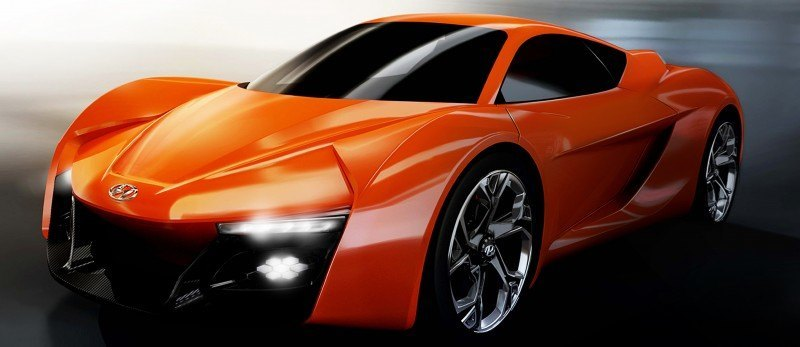 Hyundai PassoCorto Sports Car Is Torino Design Vision Come to Life!  Innovative Folded Surfacing + Hidden Cameras Replace Rear Glass 3