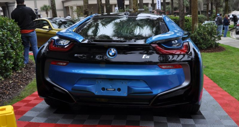 Inimitable Future-Tech 2015 BMW i8 Feeling Chummy with Concept M4 and 1980 BMW M1 -- Fleming Flashbacks 11