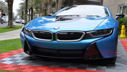 Inimitable Future-Tech 2015 BMW i8 Feeling Chummy with Concept M4 and 1980 BMW M1 -- Fleming Flashbacks 16