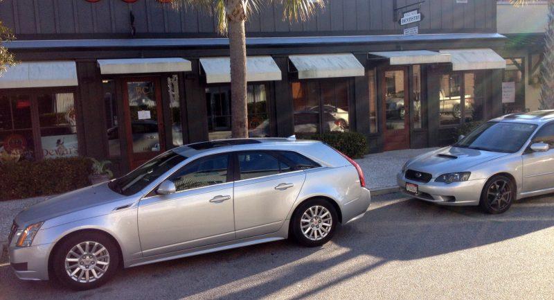 My 30PSI-Boosting Subaru Legacy GT on HD GoPro Video + Photo Comparo vs Cadillac CTS 3.6 Wagon 13