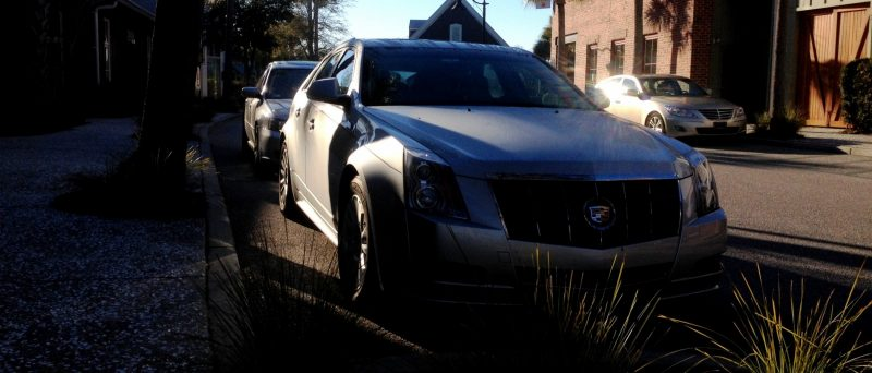 My 30PSI-Boosting Subaru Legacy GT on HD GoPro Video + Photo Comparo vs Cadillac CTS 3.6 Wagon 5