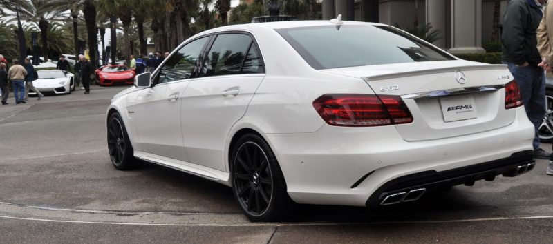 The White Knight -- 2014 Mercedes-Benz E63 AMG 4Matic S-Model On Camera + 21 All-New Photos 16