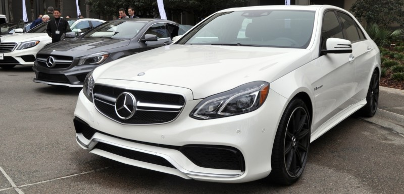 The White Knight -- 2014 Mercedes-Benz E63 AMG 4Matic S-Model On Camera + 21 All-New Photos 6