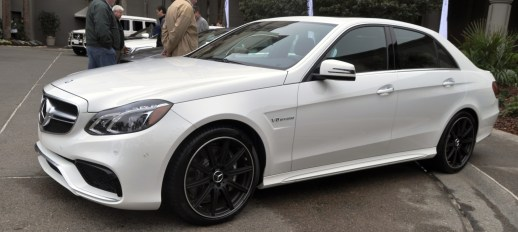 The White Knight -- 2014 Mercedes-Benz E63 AMG 4Matic S-Model On Camera + 21 All-New Photos 8