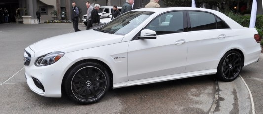 The White Knight -- 2014 Mercedes-Benz E63 AMG 4Matic S-Model On Camera + 21 All-New Photos 9