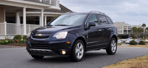 Three-Part HD Road Test Review + 60 Photos -- 2014 Chevrolet Captiva Sport LT -- Euro-Capable, High-Speed EconoCross!2