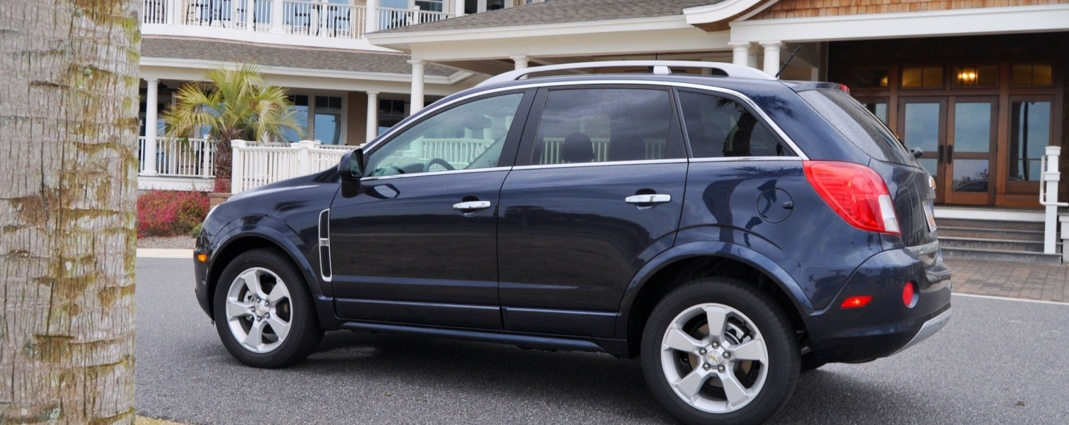 Three-Part HD Road Test Review + 60 Photos -- 2014 Chevrolet Captiva Sport LT -- Euro-Capable, High-Speed EconoCross!29