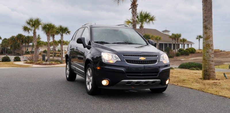 Three-Part HD Road Test Review + 60 Photos -- 2014 Chevrolet Captiva Sport LT -- Euro-Capable, High-Speed EconoCross!8