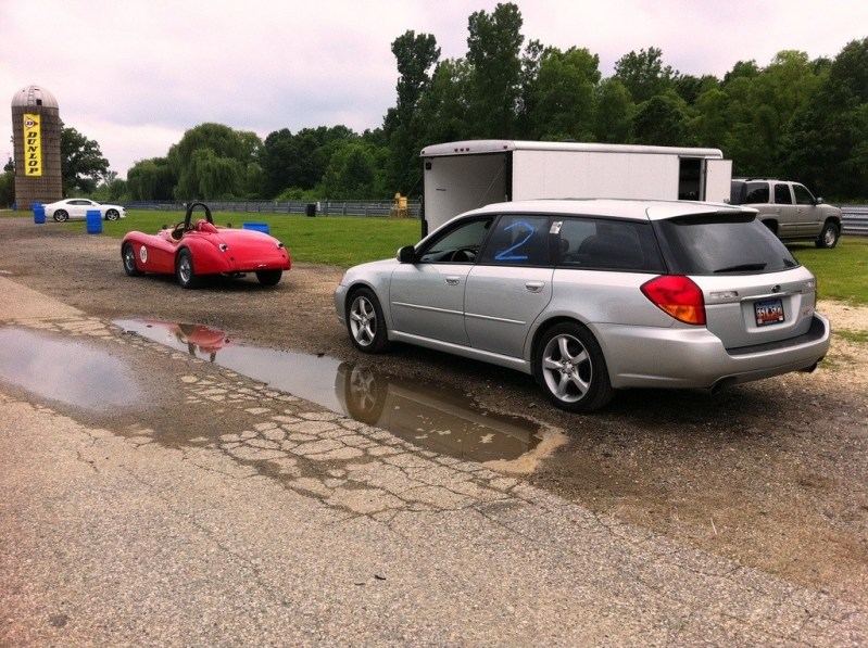 image_1 Legacy Gt with Jaguar xk120 Blackhawk farms raceway IL_7160527192_l