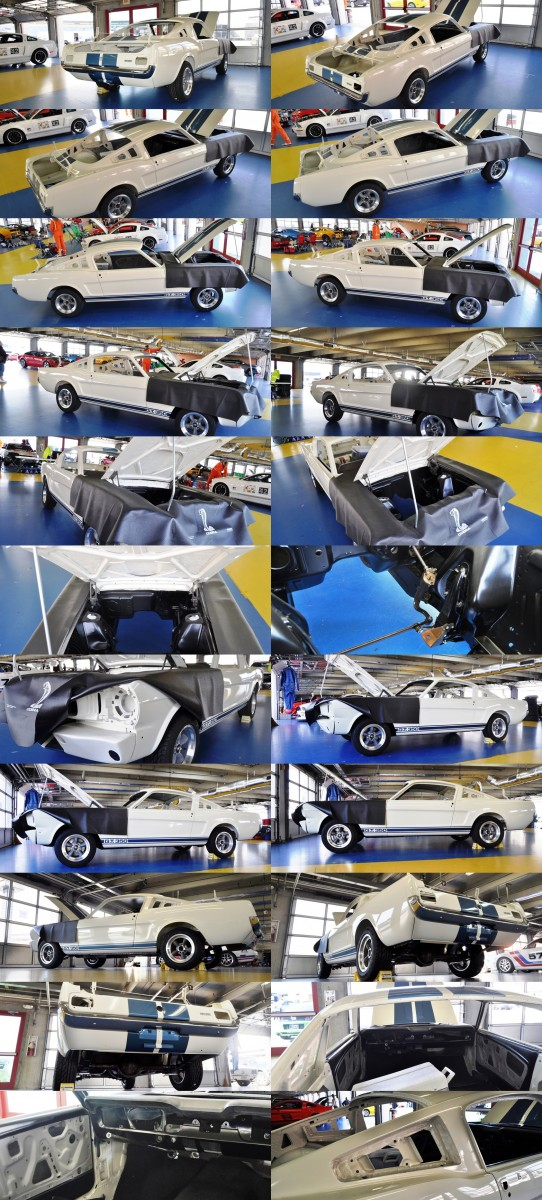 1966 Shelby Mustang GT350 Racecar Awaits Engine Buildout at Charlotte Motor Speedway 1-tile