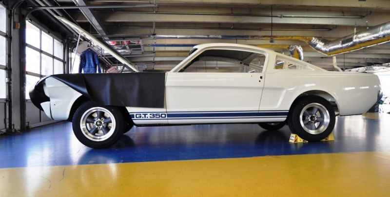 1966 Shelby Mustang GT350 Racecar Awaits Engine Buildout at Charlotte Motor Speedway 16