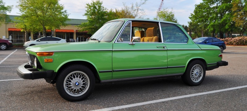 1976 BMW 2002 - Seafoam Green with Flawless Bodywork, Updated Wheels and Comfy New Seats 5