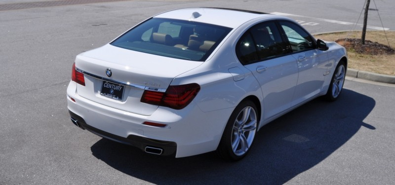 2014 BMW 750Li Definitely Not Beautiful or Focused -- But Less Adrift as SWB 750i with Squared-Off LED Lights Option 21