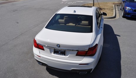 2014 BMW 750Li Definitely Not Beautiful or Focused -- But Less Adrift as SWB 750i with Squared-Off LED Lights Option 22