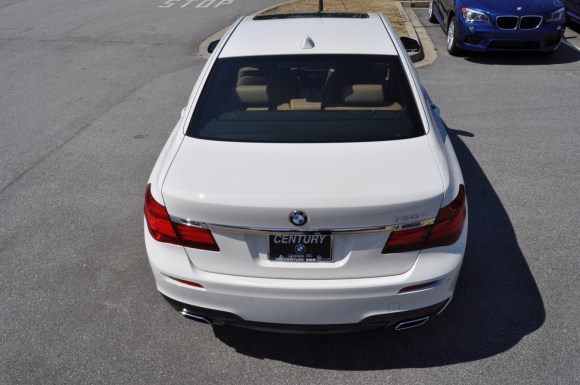 2014 BMW 750Li Definitely Not Beautiful or Focused -- But Less Adrift as SWB 750i with Squared-Off LED Lights Option 23