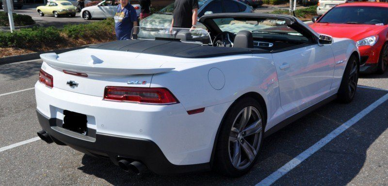 2014 Camaro ZL1 Convertible Blasts Off in Wild Sprint Starts -- 2 In-Car and 1 HD GoPro Hood-mounted Video 10