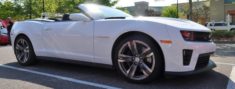 2014 Camaro ZL1 Convertible Blasts Off in Wild Sprint Starts -- 2 In-Car and 1 HD GoPro Hood-mounted Video 6
